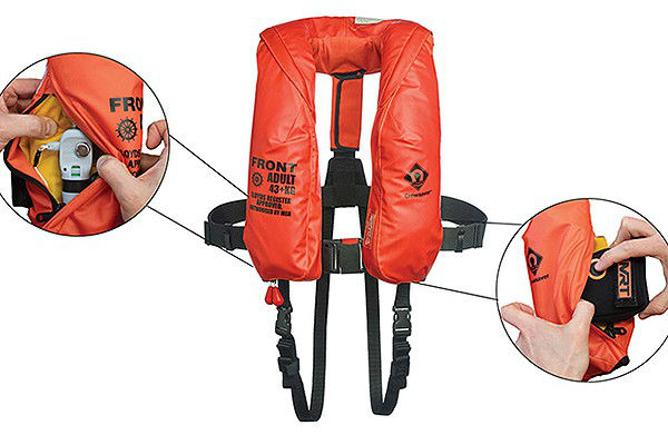 Survival specialists collaborate on constant wear lifejacket